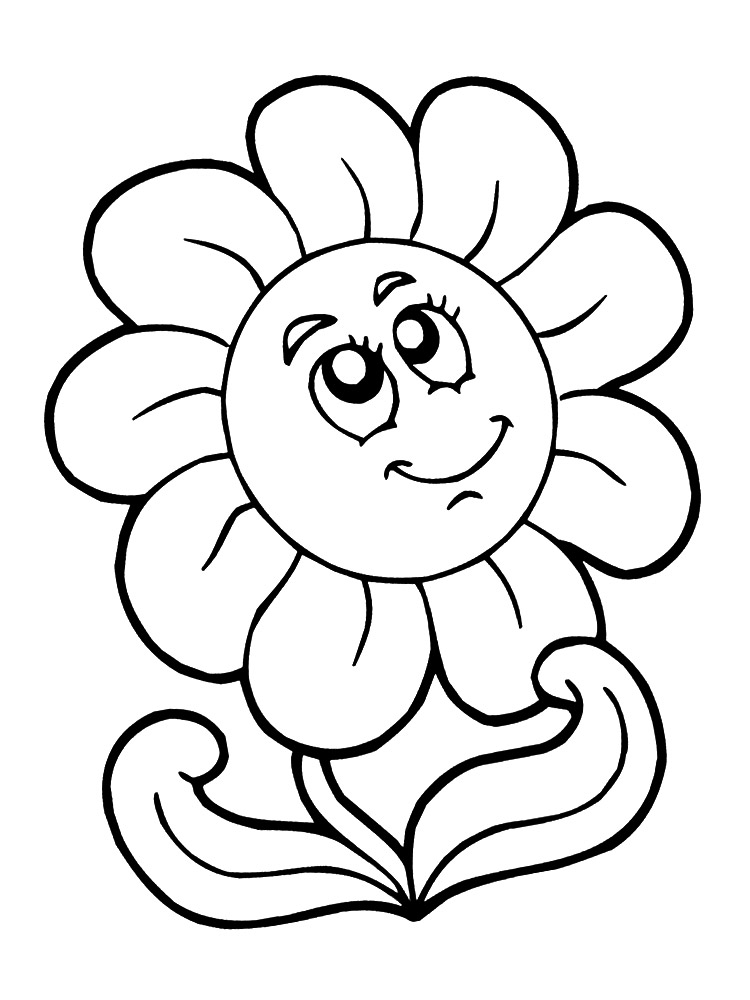Dibujo Y Pintura Dibujos De Flores Para Pintar Y Colorear