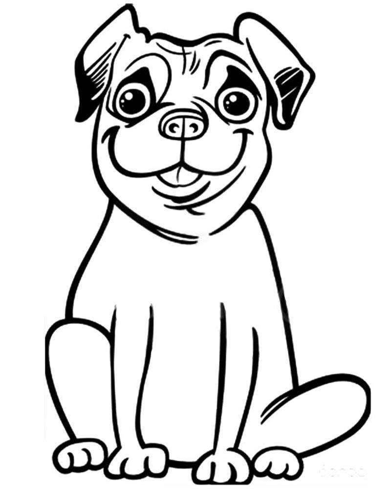 Dibujos de perros dificiles para colorear - Dibujo Y Pintura