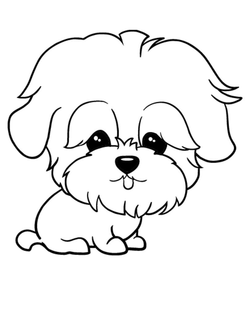 dibujos de perros para imprimir y colorear On dibujos de imprimir